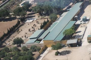 Nuestro entorno: Instalaciones de San Bruno desde aire